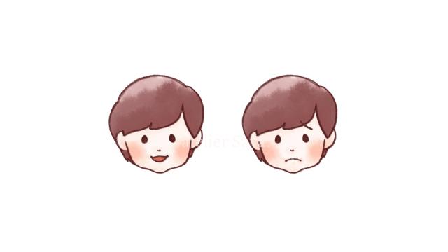 似顔絵アイコンの制作(女性)